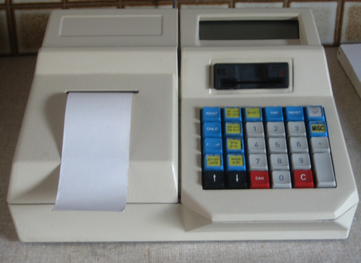 A.E.S (E.R.G) Australian bus ticket machine